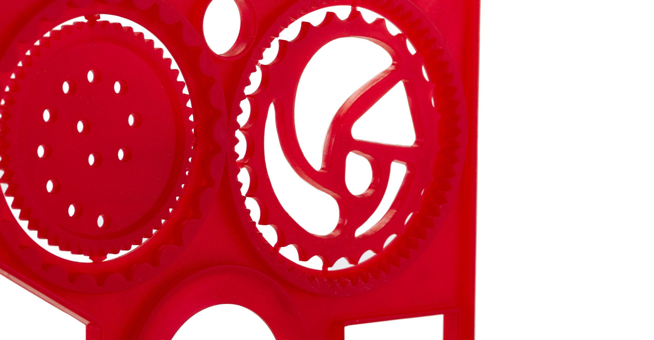 Kunststoffspritzgussteil rot