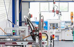 Maschinen für Kunststoffverarbeitung