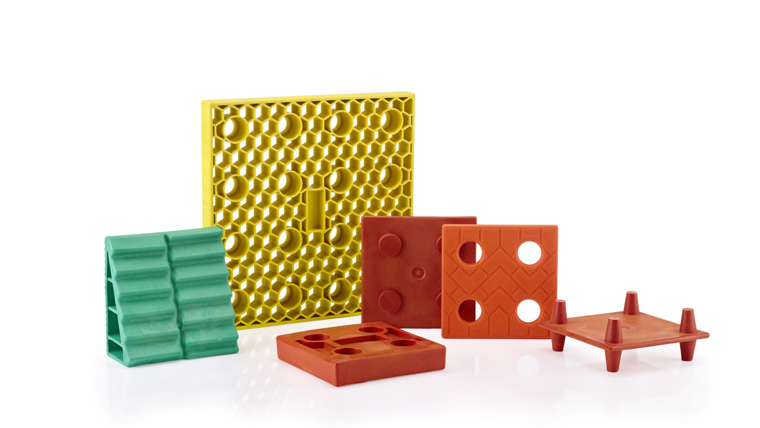 Kunststoffspritzgussteile verschiedene Formen
