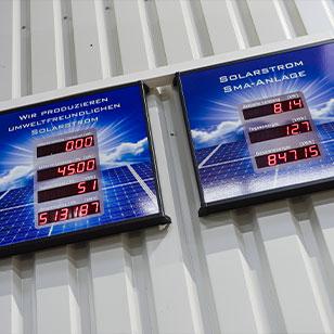 Solarstrom bei Möschl